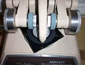 Taber abrasion machine